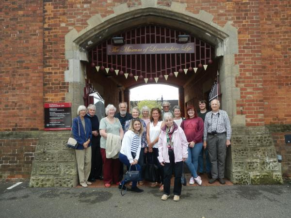 Visit to WW1 exhibition at Lincolnshire Life Museum