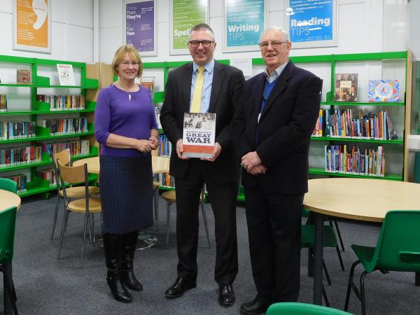 book presented to Mr Edgar