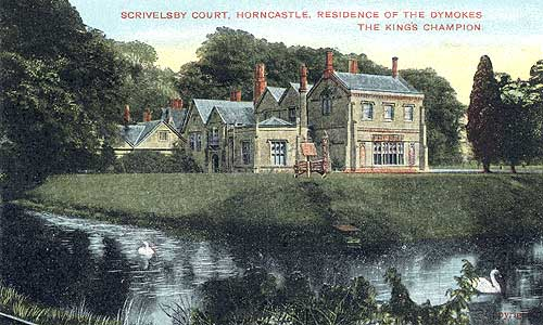 Scrivelsby Court in the early 20th Century, demolished in 1956