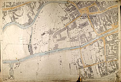 OS Map 1887 - Horncastle Centre