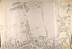 OS Map 1887 - Horncastle West