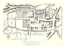 Stukeley Roman Map of 1722